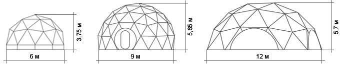 "сферические конструкции ""Bionica"""